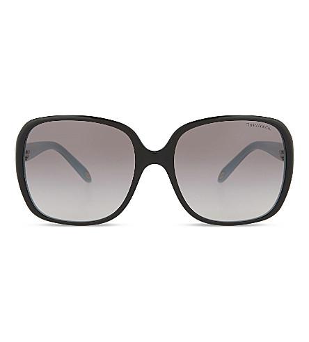 TIFFANY & CO TF4056 Keys square-frame sunglasses (Black