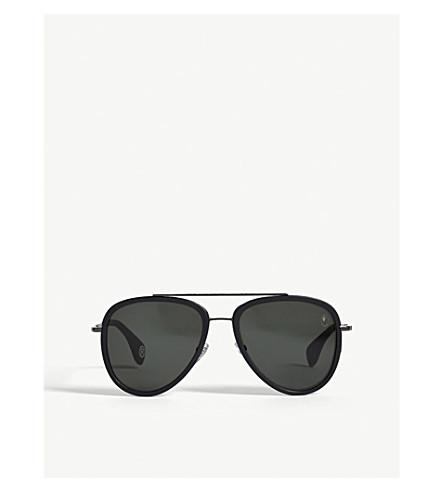 BAPE BS13028 aviator-frame sunglasses (Black
