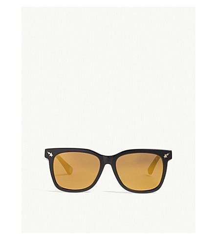 BAPE Parka s04 square-frame sunglasses (Black