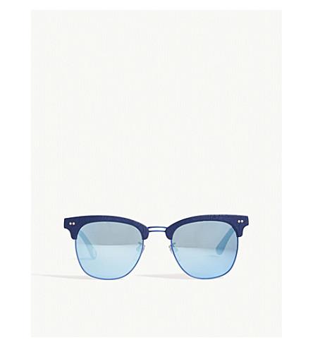 BAPE BS13041 square-frame sunglasses (Blue