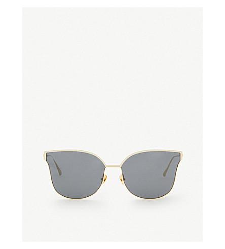 PROJECT PRODUCKT FN-11 CGLD cat eye aviator sunglasses (Gold