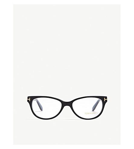 5ae514db18 ... TOM FORD Havana Tf5535 rectangle-frame optical glasses (Blue.  PreviousNext