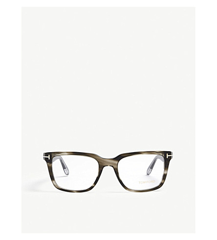 TOM FORD Ft5304 square optical glasses (Grey