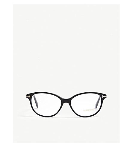 TOM FORD Ft5421 cateye sunglasses (Black
