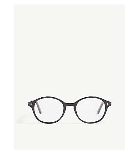 39fa118080ea TOM FORD FT5428 round-frame glasses (Black