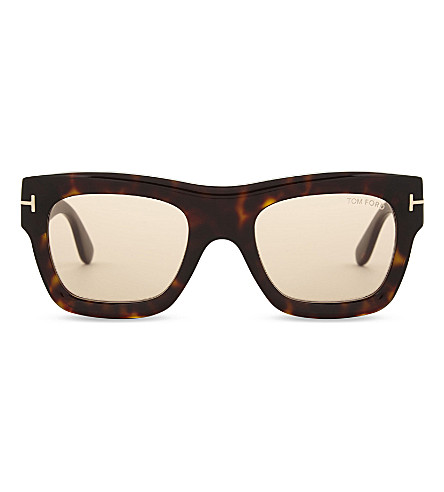DIOR Wagner square-frame sunglasses (Havana