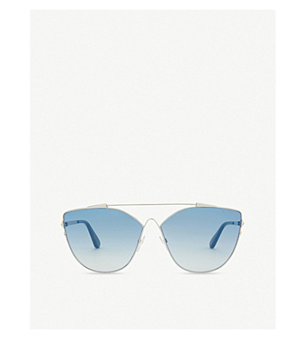 DIOR Jacquelyn cat-eye frame sunglasses (Silver