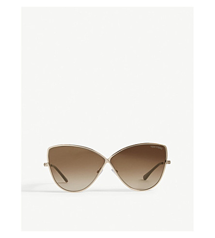 TOM FORD Elise-02 butterfly-frame sunglasses (Pink