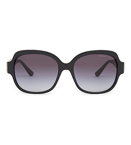 MICHAEL KORS Suz square sunglasses (Black