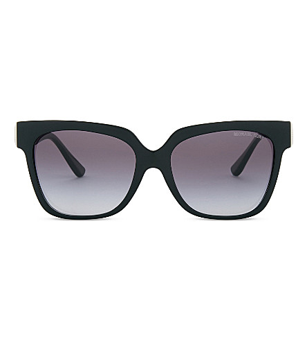 MICHAEL KORS Ena square sunglasses (Black