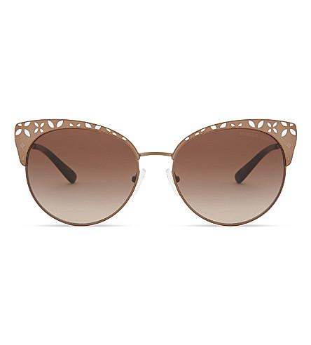 MICHAEL KORS 0MK2056 Adrianna i cat eye-frame sunglasses (Dark+grey