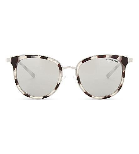 MICHAEL KORS Havana Adrianna I sunglasses (Snow+leopard