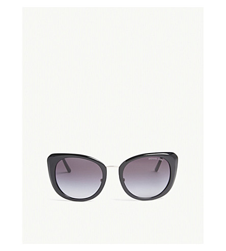 MICHAEL KORS Lisbon cat-eye frame sunglasses (Black