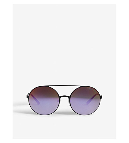 MICHAEL KORS Cabo round-frame sunglasses (Black