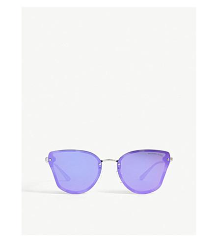 MICHAEL KORS Sanibel butterfly-frame sunglasses (Leapoard