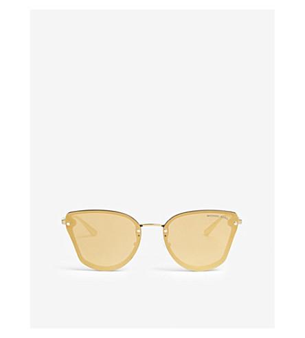 MICHAEL KORS Sanibel butterfly-frame sunglasses (Black