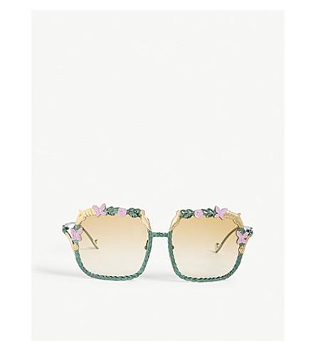 ANNA-KARIN KARLSSON The Garden square-frame sunglasses (Summer
