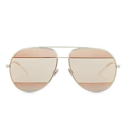 DIOR DiorSplit1 pilot-frame sunglasses