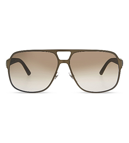 GUCCI GG2253 Aviator sunglasses