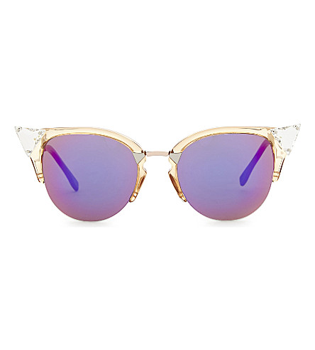 FENDI Ff0041 cat-eye sunglasses (Bronze