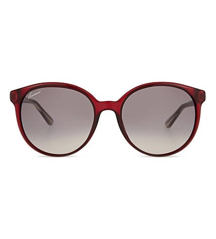 GUCCI GG3697 Round-frame sunglasses