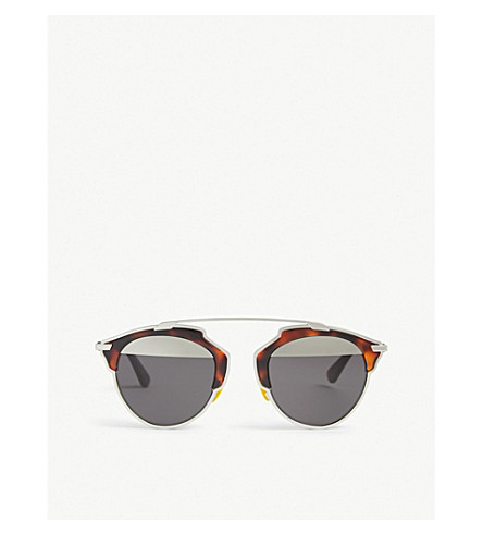 DIOR So Real round-frame sunglasses