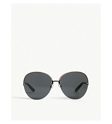 DIOR Superbe oval-frame sunglasses