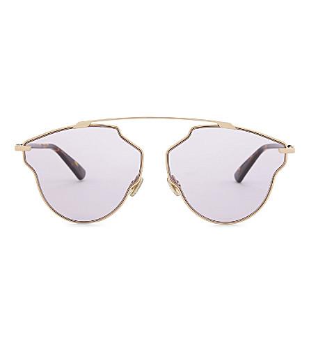 DIOR DiorSoRealPop pilot-frame sunglasses