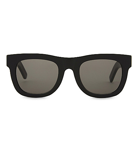 RETRO SUPER FUTURE Ciccio square-frame sunglasses (Black