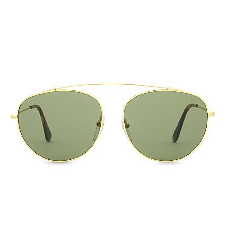 RETRO SUPER FUTURE SP12 aviator sunglasses (Black