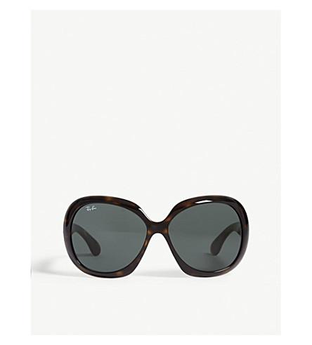 d76777c8e0938 RAY-BAN RB4098 Jackie Ohh II square-frame sunglasses (Havana