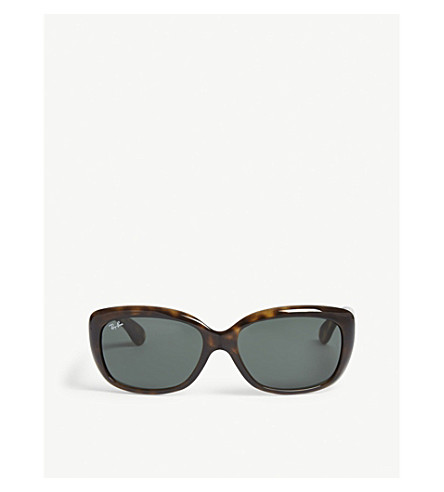 b8478978759c1 RAY-BAN - RB4101 Jackie Ohh rectangle-frame sunglasses