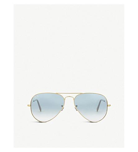 RAY-BAN Aviator large pilot-frame sunglasses