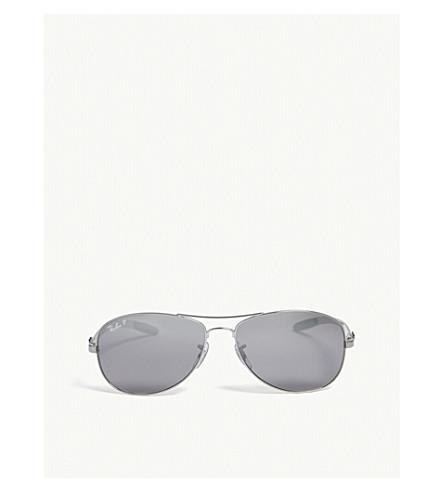 RAY-BAN RB8301 Tech aviator sunglasses (Gunmetal