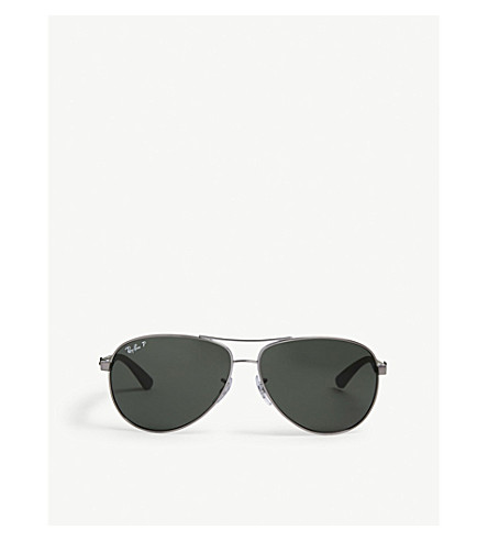 RAY-BAN RB8313 Tech aviator sunglasses (Gunmetal
