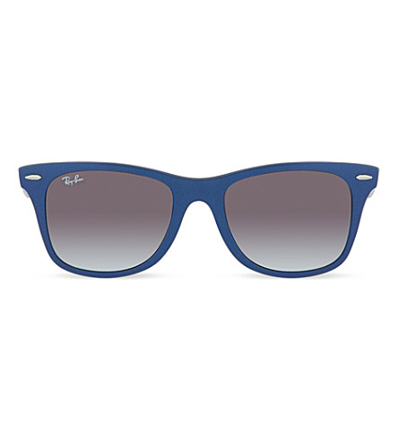 RAY-BAN Blue wayfarer sunglasses RB4195 (Blue