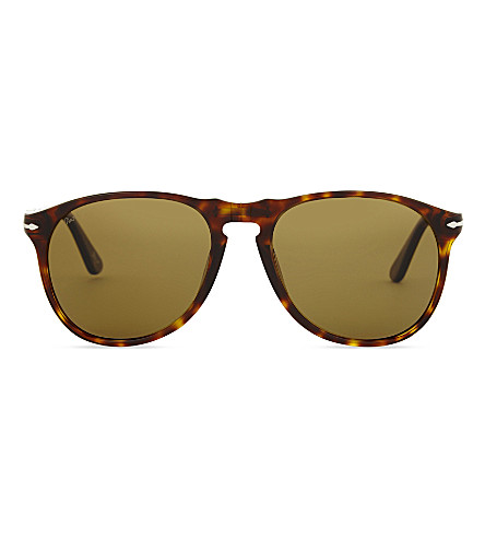 PERSOL Po9649s pilot-frame sunglasses