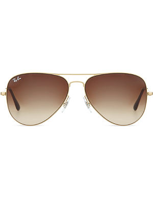 RAY-BAN Gloss pilot sunglasses RB3513