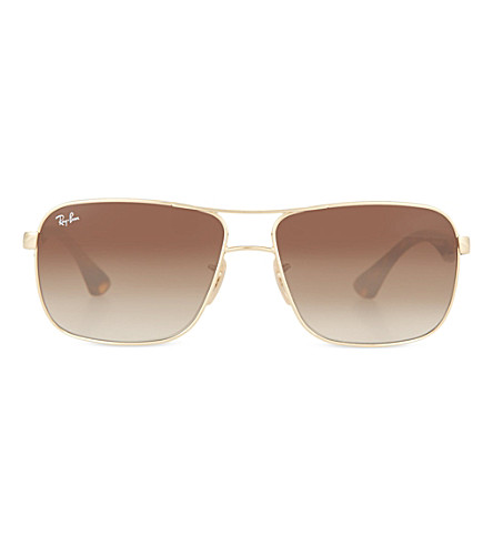 RAY-BAN RB3516 Arista square sunglasses (Arista
