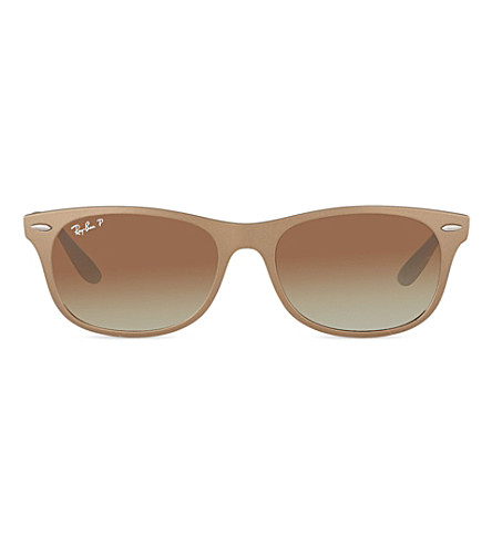 RAY-BAN Wayfarer Liteforce ORB4207 sunglasses (Matte+brown