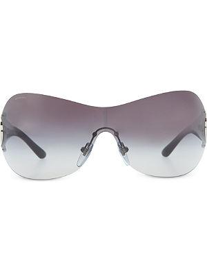 BVLGARI Silver pillow sunglasses BV6074B
