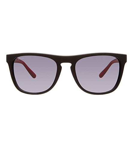 BVLGARI Square sunglasses BV7020 56 (Black+rubber