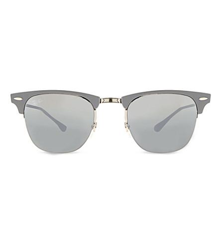 RAY-BAN Titanium square sunglasses rb8056 (Titanium