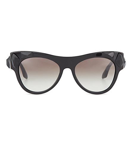 PRADA PR22QS oversized sunglasses (Black