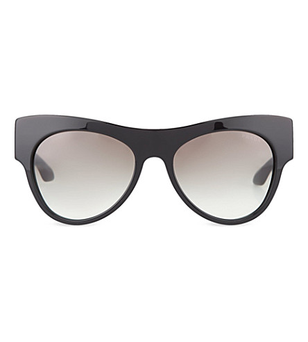 PRADA PR28QS cat-eye sunglasses (Black