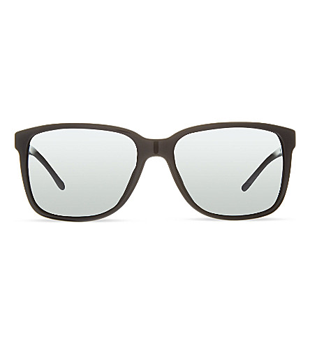 BURBERRY B4181 square sunglasses (Black