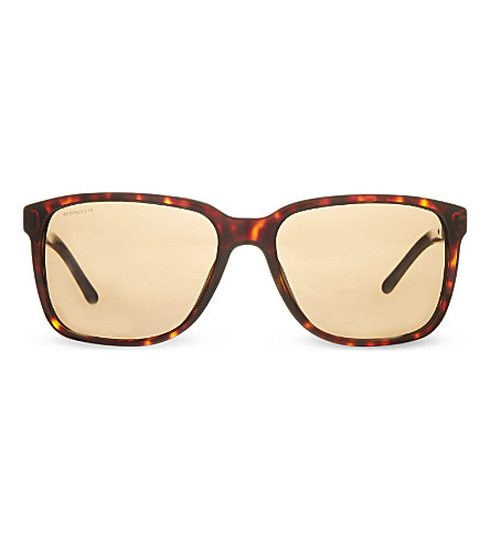 BURBERRY B4181 square sunglasses (Dark+havana