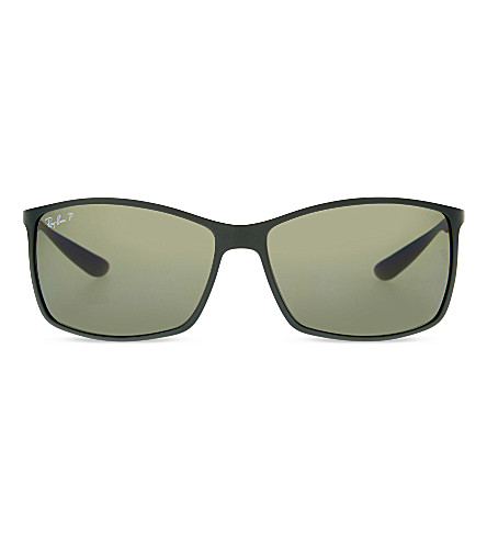 RAY-BAN Rb 4179 polarised square sunglasses