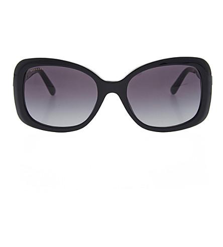 BVLGARI Bv8144 square sunglasses (Black