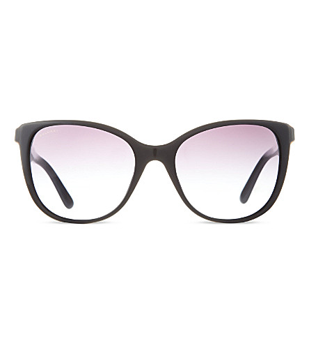 BVLGARI 8145B square sunglasses (Black